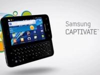 Демо видео Samsung Captivate Glide