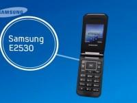 Демо видео Samsung E2530