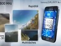 Демо видео Samsung Galaxy Ace Hugo Boss
