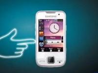 Демо видео Samsung GT-S5600