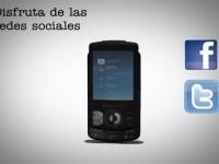 Демо видео Sony Ericsson W100 Spiro