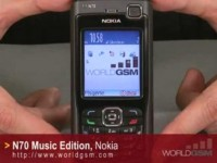 Видео обзор NOKIA N70 Music Edition