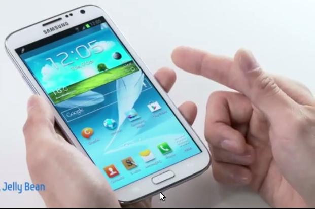 Samsung Galaxy Note II Функции