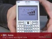 Видео обзор NOKIA E61