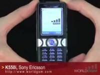 Видео обзор Sony Ericsson K550i