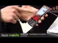Премьера LG KF510 на MWC 2008
