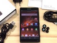 Наш видео-обзор Sony Xperia ZL