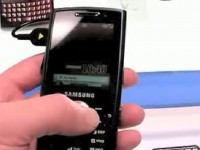Видео обзор Samsung i200 от TimTechs.com
