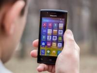 Видео обзор смартфона Philips S307