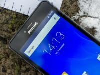 Видео обзор смартфона Philips S326
