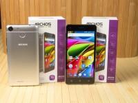 Видео обзор смартфонов ARCHOS 50b Cobalt и 50b Cobalt Lite