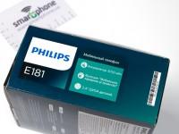 Видео-обзор Philips E181