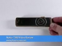 Видео обзор Nokia 7380 от PhoneScoop.com