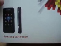 Видео обзор Samsung F700