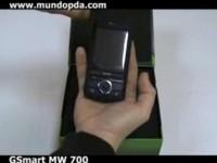 Видео обзор GSmart MW700, часть 1