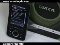 Видео обзор GSmart MW700, часть 2