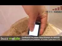 Видео тест Sony Ericsson C702