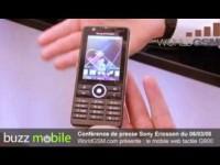 Превью Sony Ericsson G900